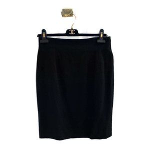 Celine Paris Vintage 90s Classic Workwear Skirt